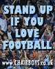 Stand up if you love football